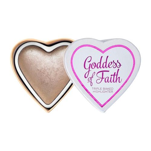 Glowing Heart Goddess Of Faith -
