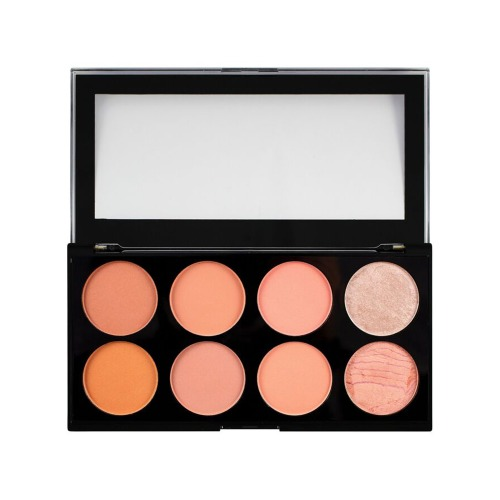 Makeup Ultra Blush Palette Hot Spice -