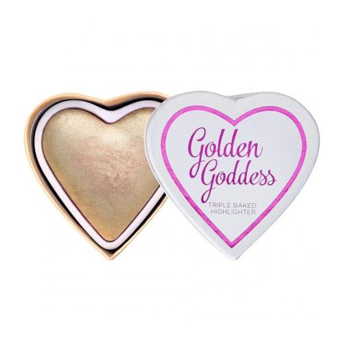 Glowing Heart Golden Goddess -